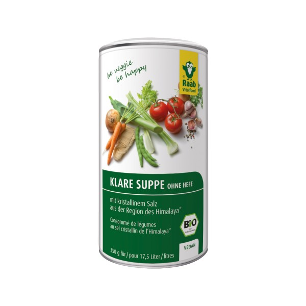 Clear soup BIO - without yeast