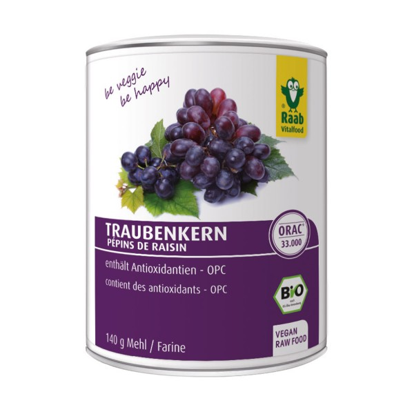 Grape seed flour Raab BIO 300 g