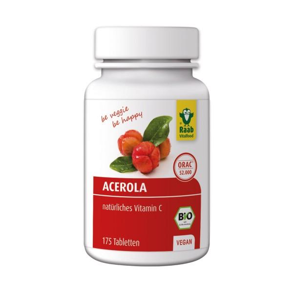 Organic acerola tablets
