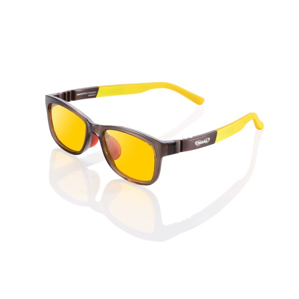 Kids screen glasses KiDS # 3 brown / yellow