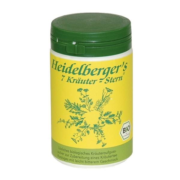 Heidelbergers 7 herbs star powder BIO