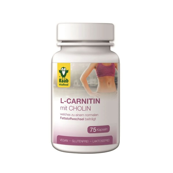L-carnitine with choline capsules