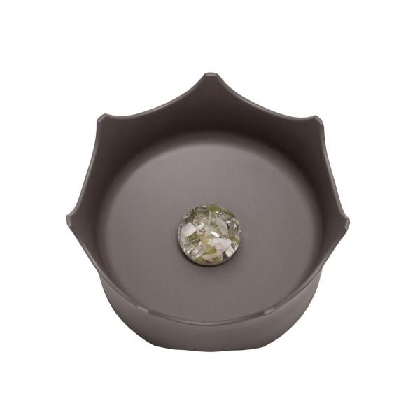 Wassernapf Crown ViA - schiefergrau, für Hunde und Katzen