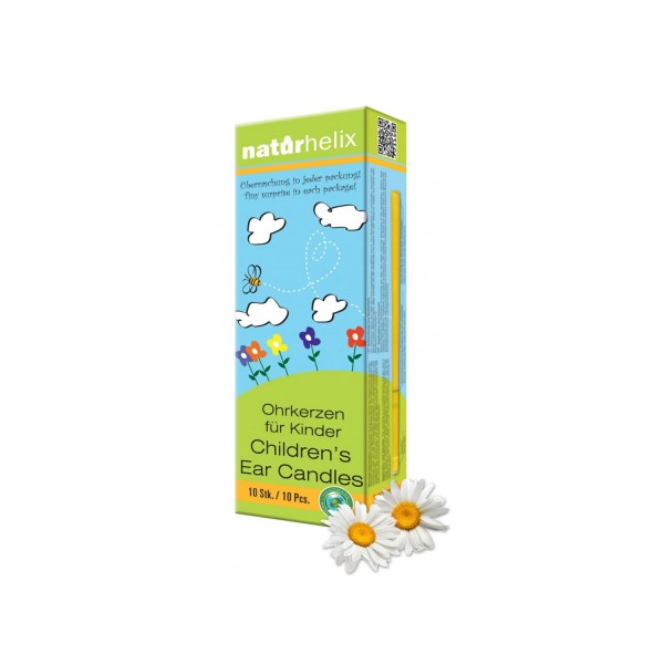 Naturhelix children ear candles chamomile 10 pieces