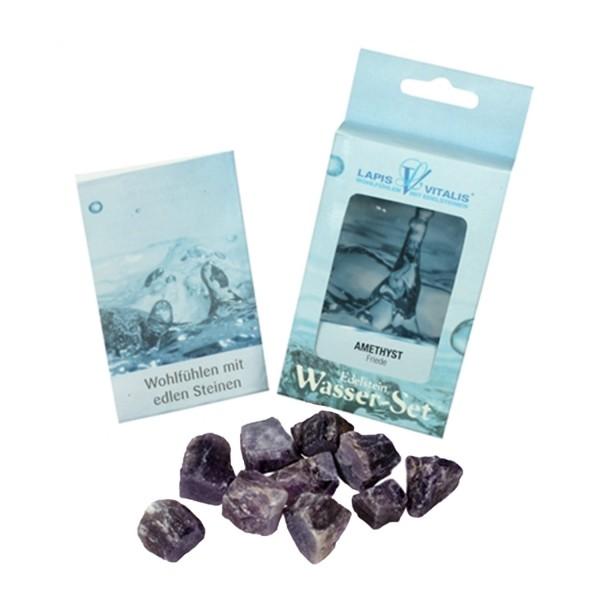Water stones Amethyst