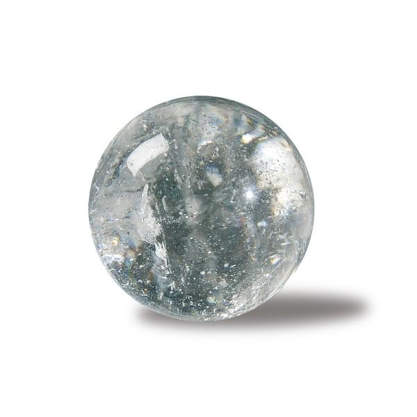 Rock crystal stone ball