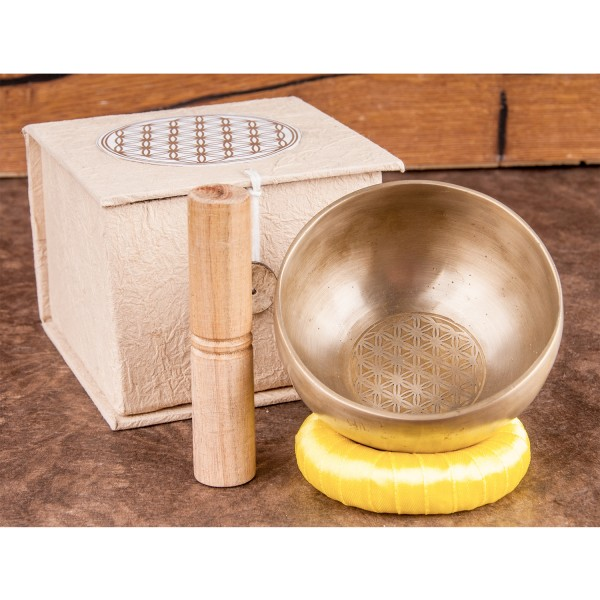 """Singing bowl set """"Flower of Life"""", small"""