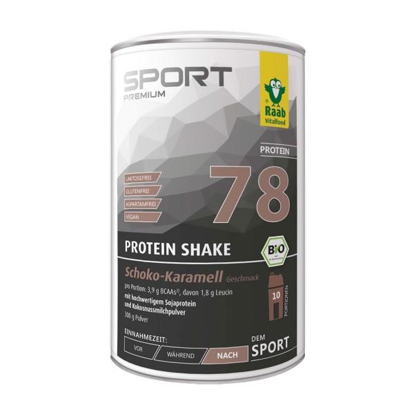 Protein Shake Chocolate Caramel Organic