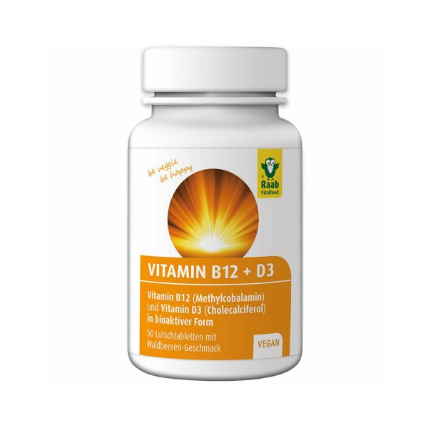 Vitamin B12 + D3 tablets
