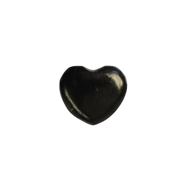 Shungite heart, small (2.8 cm)
