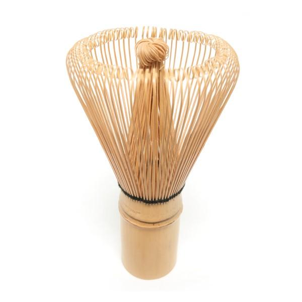 Matcha bamboo brush