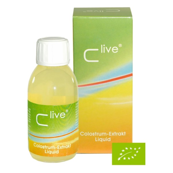 C-Live® Colostrum Extract liquid, BIO 125 ml