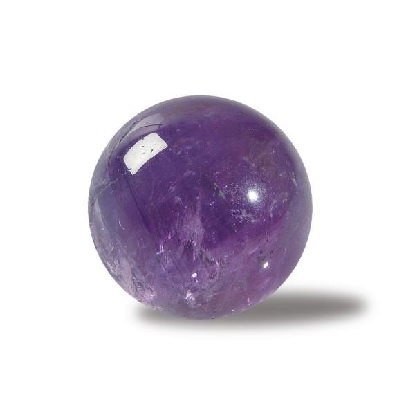 Amethyst stone ball