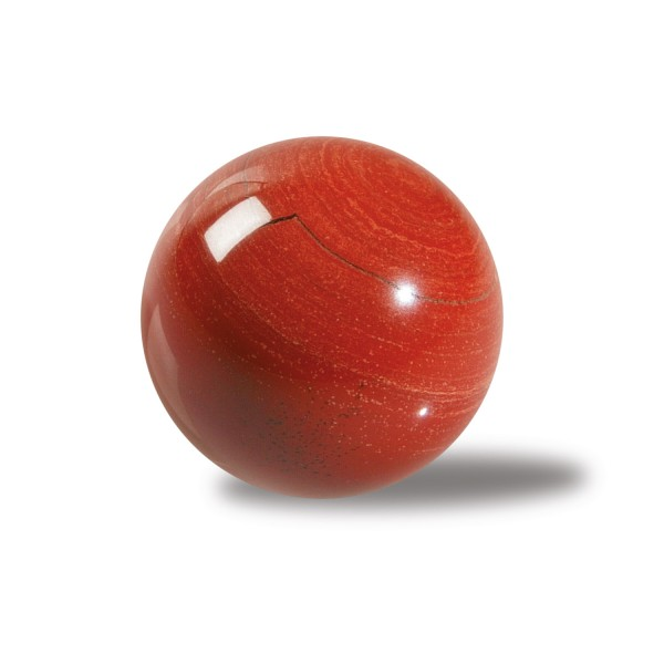 Red Jasper stone ball