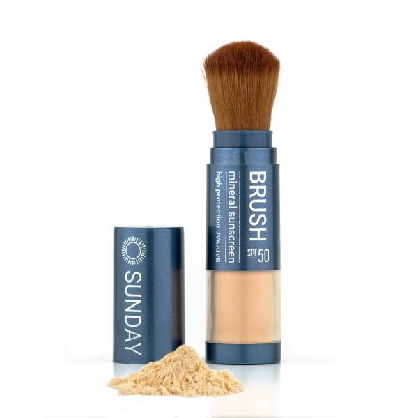 Sunday Brush Sonnenschutz LSF 50 Mineralpuder