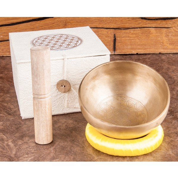"Singing bowl set ""Flower of Life"", great"