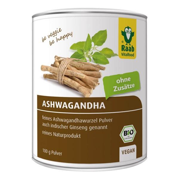 Bio Ashwagandha Pulver 100g