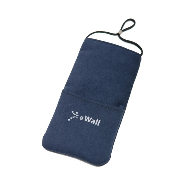 eWall Classic Dark Blue Radiation Protection Mobile Phone Case