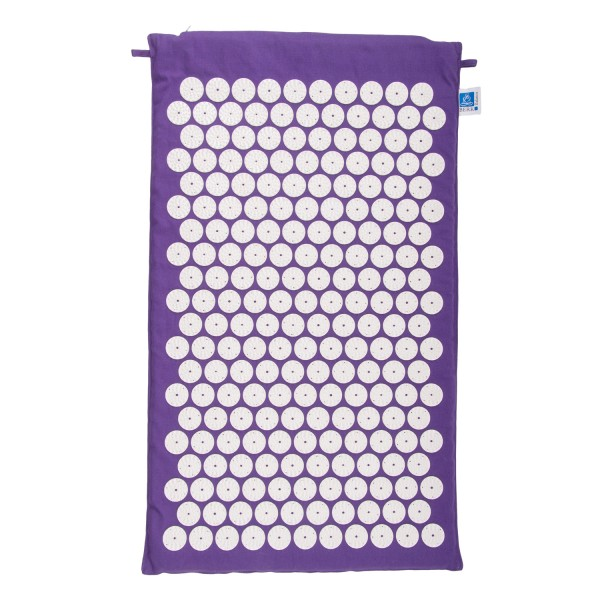 Acupressure mat with the flower of life, for tension